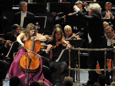 Weilerstein at BBC Proms 2014 with Czech Philharmonic and  Jiri Belhovik